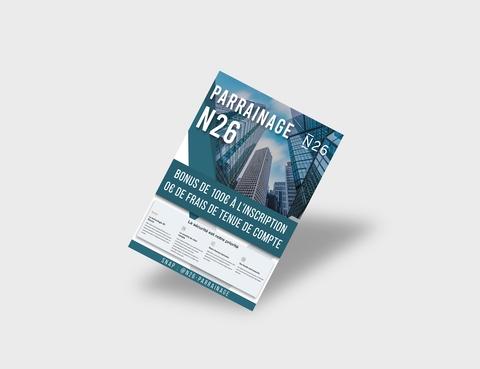 N26 Party Flyer Design
